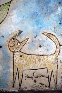 Essonne. Milly-la-Forêt, chapelle St-Blaise-des-Simples. Jean Cocteau (de). 1