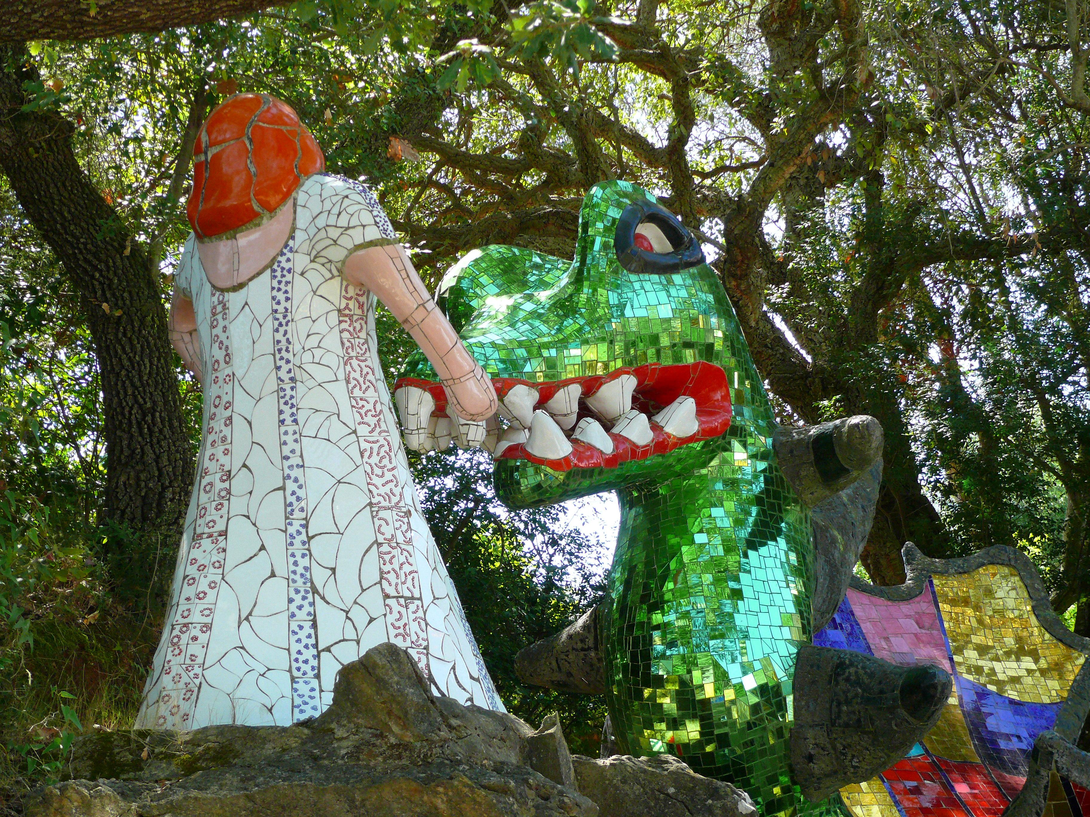 Balade du dimanche au Jardin des Tarots