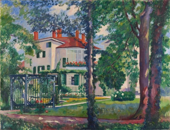 La Villa Flora par Henri Manguin