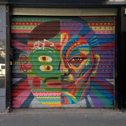 Kashink Guache 2014, 77-79 rue des Pyrénées