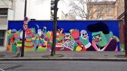 Kashink, Vanités, Hommage à de Niki de Saint Phalle, 76 rue Bobillot Paris 13