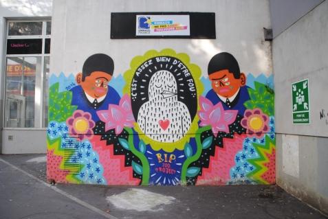 Kashink - Rip Zoo Project 2014, 58 rue St Blaise