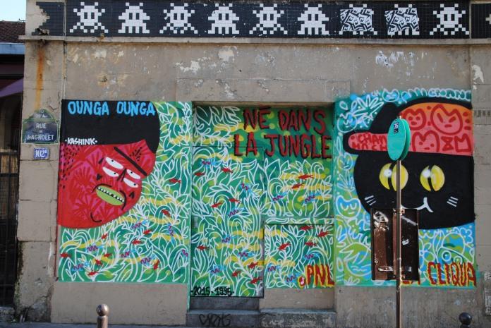 Kashink - Né dans la Jungle 2015-1995, Kashink & Chanoir, 102 rue de Bagnolet