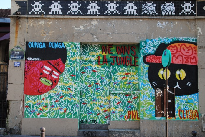 Kashink - Né dans la Jungle 2015-1995, Kashink & Chanoir, 102 rue de Bagnolet