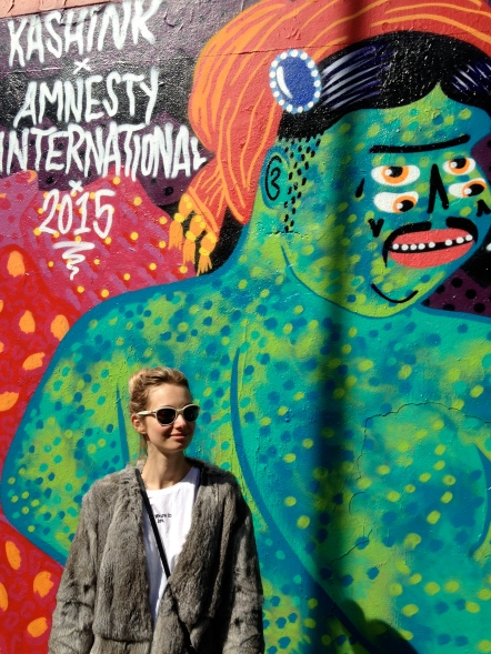 Mon Corps, Mes Droits pour Amnesty International avril 2015 rue Ordener Paris 19